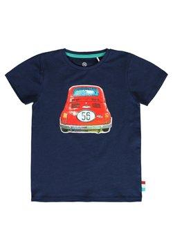 Lemon Beret - T-shirt print - dress blues