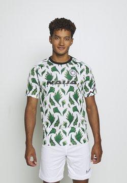 Nike Performance - NFF NIGERIA NIGERIA - Voetbalshirt - Land - white/pine green/black