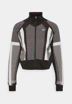 Nike Performance - Trainingsjacke - black/white/metallic silver
