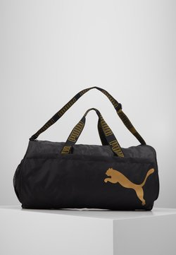 Puma - BARREL BAG - Sporttasche - black/metallic gold
