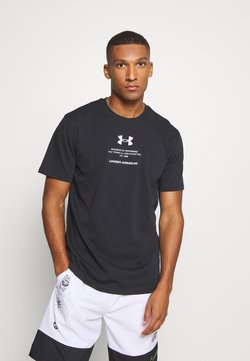 Under Armour - ORIGINATORS OF PERFORMANCE - T-Shirt print - black