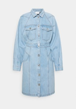 Gestuz - DRESS - Denim dress - light blue vintage