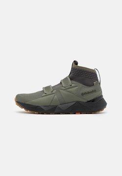 Columbia - FACET45 OUTDRY - Chaussures de marche - stone green/autumn orange