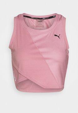 Puma - STUDIO CROP - Camiseta de deporte - foxglove