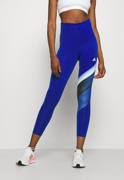 adidas Performance - Tights - blue/white