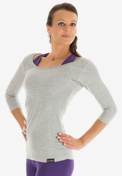 Winshape - Långärmad tröja - grey melange