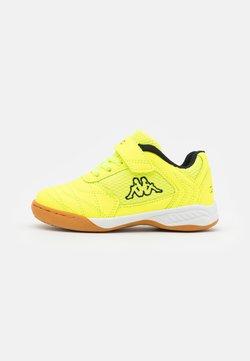 Kappa - DAMBA UNISEX - Gym- & träningskor - yellow/black