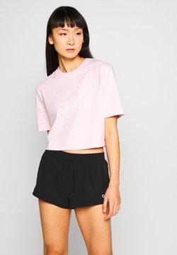 Calvin Klein Performance - CROPPED SHORT SLEEVE  - T-Shirt print - pink