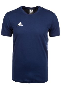 adidas Performance - CORE 18 - Printtipaita - dark blue