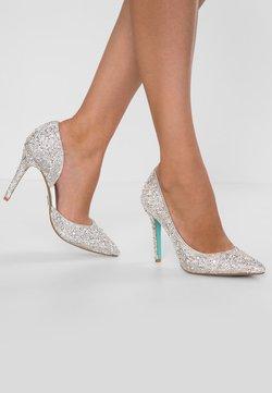 Blue by Betsey Johnson - HAZIL - Zapatos altos - silver