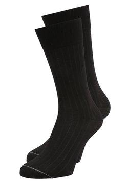 Marc O'Polo - LUDVIG 2 PACK - Socken - schwarz