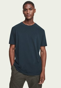 Scotch & Soda - T-Shirt basic - arctic teal
