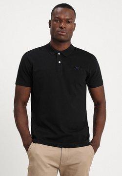 Selected Homme - SLHLUKE SLIM FIT - Koszulka polo - black