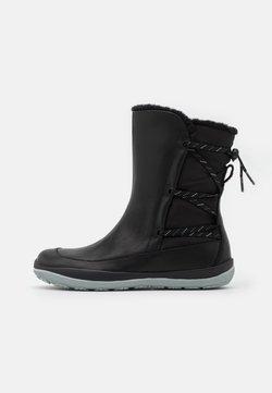 Camper - PEU PISTA - Snowboot/Winterstiefel - black