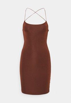 Sixth June - SEXY DRESS - Fodralklänning - brown