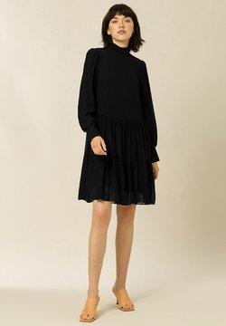 IVY & OAK - Vestido camisero - black