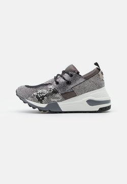 Steve Madden - CLIFF - Sneaker low - pewter/multicolor