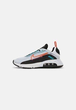 Nike Sportswear - AIR MAX 2090 UNISEX - Sneakers laag - white/turf orange/black/aquamarine/pure platinum/lotus pink