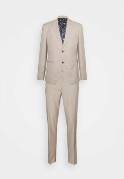 Isaac Dewhirst - THE FASHION SUIT PEAK - Anzug - beige