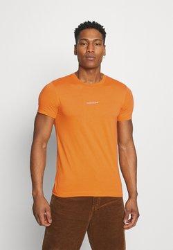 Calvin Klein Jeans - MICRO BRANDING ESSENTIAL TEE - T-shirt basic - rusty orange
