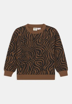 Gina Tricot - MINI PRINT - Sweater - brown