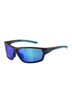 Alpina - TRI-SCRAY - Sportbrille - black matt-cyan (a8641.x.31)