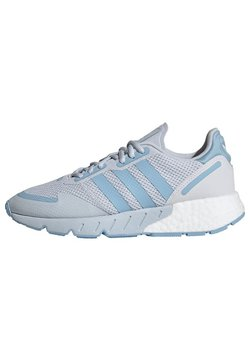 adidas Originals - ZX 1K BOOST SHOES - Sneaker low - halo blue/clear blue/ftwr white