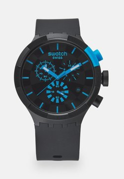 Swatch - RACING POWER - Montre à aiguilles - black/blue