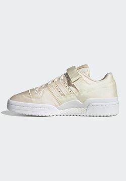 adidas Originals - FORUM 84 LOW ORIGINALS SNEAKERS SHOES - Matalavartiset tennarit - white/cream white/ftwr white