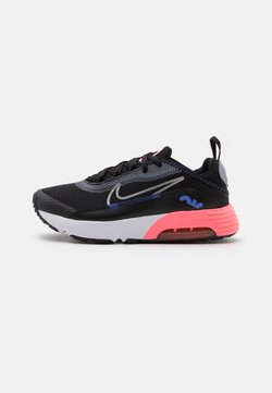 Nike Sportswear - AIR MAX 2090 UNISEX - Sneakers - black/metallic silver/sunset pulse/sapphire