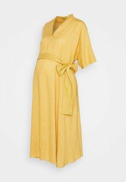 Glamorous Bloom - BOW MIDI DRESS - Vestido informal - yellow