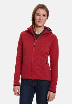 Jeff Green - GLORIA - Fleecejacke - red