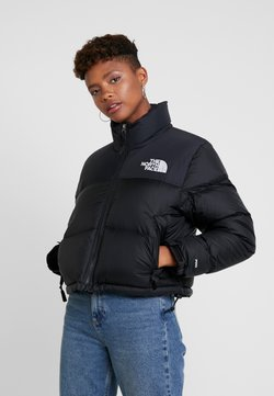 The North Face - NUPTSE CROP - Daunenjacke - black