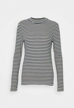 Marc O'Polo - LONG SLEEVE TURTLE NECK - T-shirt à manches longues - multi/dark night
