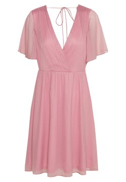 Nly by Nelly - WIDE SLEEVE DRESS - Cocktailkleid/festliches Kleid - rose