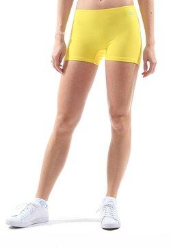 SPORTKIND - kurze Sporthose - gelb