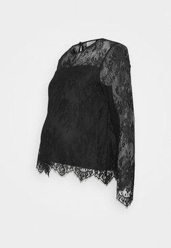 Pieces Maternity - PCMDEBBIE - Blusa - black