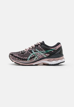 ASICS - GEL-KAYANO 27 THE NEW STRONG - Zapatillas de running estables - black/ginger peach