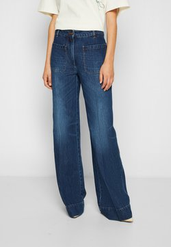 Victoria Beckham - ALINA - Jeans relaxed fit - marble wash light