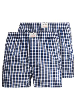 TOM TAILOR - WESTSIDE 2 PACK - Boxershorts - dark blue/white/blue
