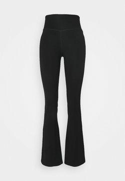 L'urv - MINDFUL FLARE YOGA PANT - Pantalon de survêtement - black
