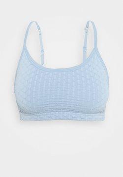 Cotton On Body - WORKOUT YOGA CROP - Sports bra - baby blue