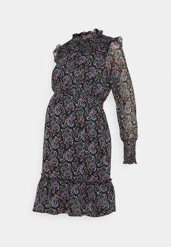 ONLY - OLMASTA SMOCK DRESS - Vestido informal - black