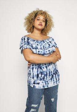 Lauren Ralph Lauren Woman - ADALYN - T-Shirt print - blue/multi