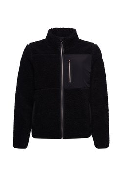 Superdry - STORM PANEL BORG ZIP - Winterjacke - black