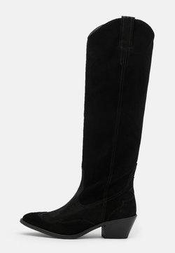 AllSaints - VALERY - Overknees - black
