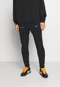 Nike Performance - FC BARCELONA PANT  - Equipación de clubes - black/new green