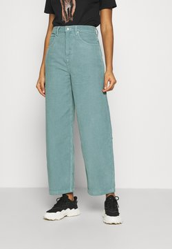 Topshop - TEA BAGGY - Trousers - teal