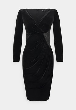 Emporio Armani - DRESS - Shift dress - nero