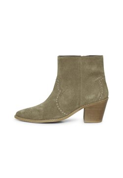 ICHI - IAFANN SUEDE BOOT - Ankle Boot - natural